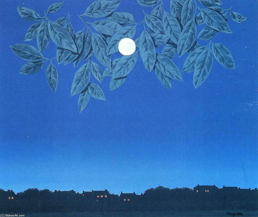 La pagina bianca Renè Magritte