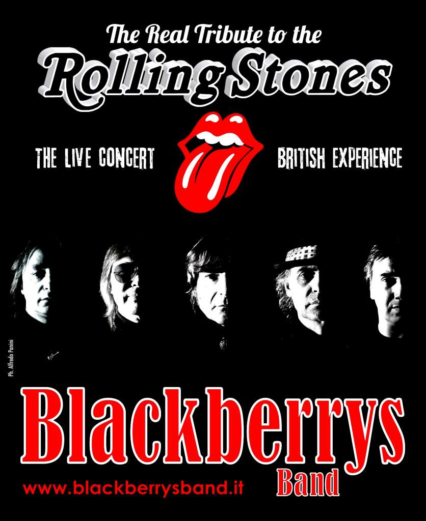 Advertising flag Blackberrys Band x web