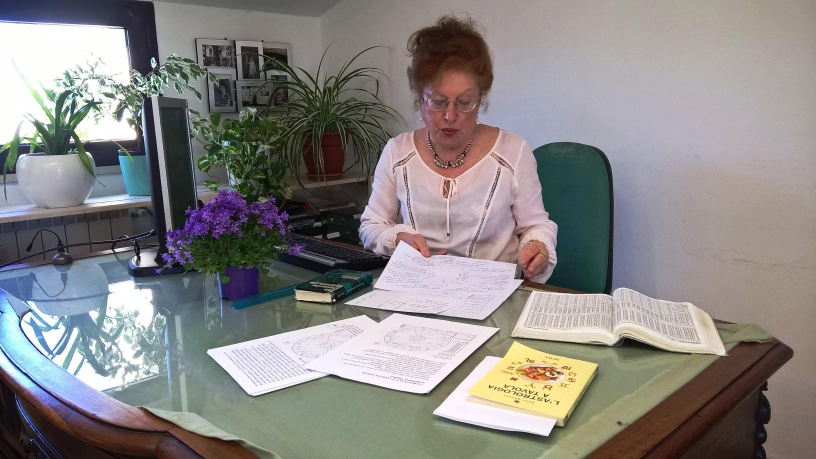 SUSY GROSSI RACCONTA I SEGNI DAL 15 AL 21 MAGGIO 2017